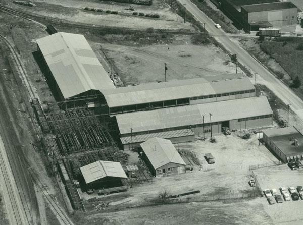 1965 | Fabrication bays added