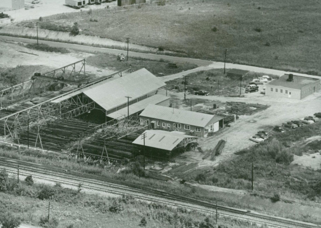 1952 | South Carolina Steel Company begins fabricating rebar & structural steel in Taylors, S.C.